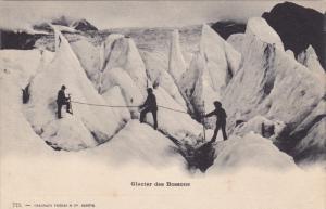 FRANCE, 1900-1910's; Glacier Des Bossons
