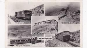 RP, 5-Views, The Summit Station, Train Arriving At The Summit Station, Etc., ...