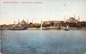 Stamboul Mer de Marmara Constantinople Turkey Unused