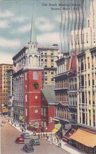 Massachusetts Boston Old South Meeting House 1949