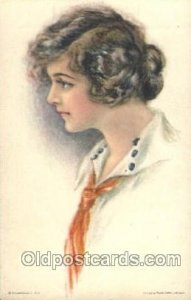 American Girl No. 54 Pearl Eugenia Fidler, Artist Signed writing on back very...