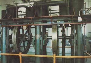 Broomy Hill In Hereford Vintage Victorian Pumping Engine Dairy Machine Postcard