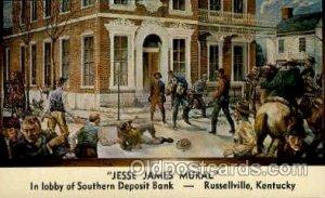 Jesse James Mural, Russellville, KY, USA Famous People Unused
