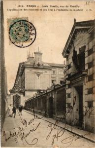 CPA PARIS 12e-École Boulle-Rue de Reuilly (322535)