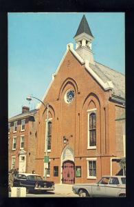 Dover, Delaware/DE Postcard, Wesley Methodist Church, Old Cars
