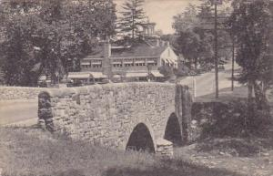 Old Stone Bridge And Washington Inn Valley Forge Pennsylvania Albertype