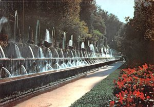 The Hundred Fountains Tivoli Italy Postal Used Unknown, Missing Stamp