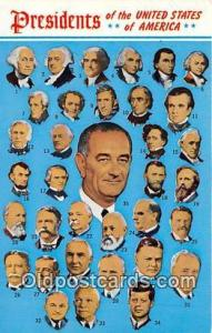 Postcard Presidents of the USA