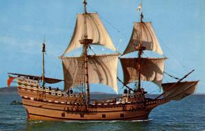 Mayflower II   (Ship)
