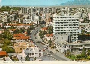 Postcard Cyprus Nicosia general city view