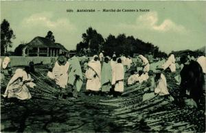 CPA Antsirabe- Marche de Cannes a Surce MADAGASCAR (830011)