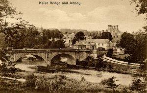 UK - England, Kelso. Bridge and Abbey