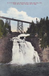 A.C. Railroad Bridge , SOO , Ontario , Canada , PU-1915