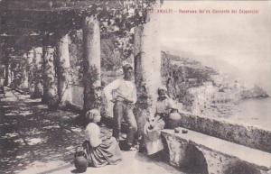 Italy Amalfi Panorama dal' ex Convento dei Cappuccini