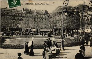 CPA GRENOBLE La Place Victor-Hugo (685525)