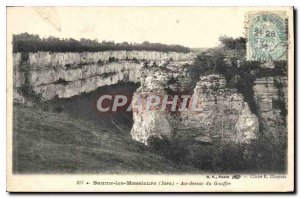 Old Postcard Baume les Messieurs Jura Above the Abyss