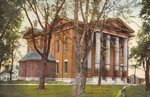 court house  boone county  iowa L4346 antique postcard
