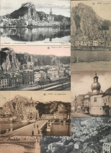 Belgium - Dinant Postcard Lot of 17 Printed - 01.02