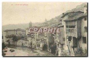 Postcard Old Bridge Royans