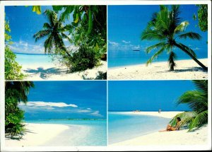 JD0016 maldives islands male atoll arabian sea indian ocean butterfly stamp