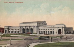 Washington D C Union Railroad Station 1913 sk1806