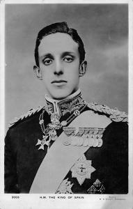 H.M. The King Alfonso XIII of Spain