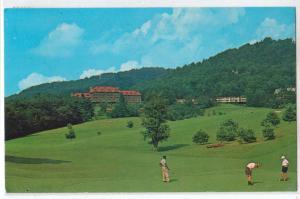 Grove Park Inn, Golf, Asheville NC