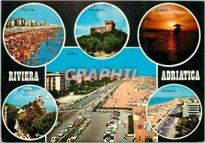 Postcard Modern Riviera Adriatica