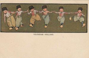 Volendam - Holland, Netherlands , 1890s-1907 ; Boys