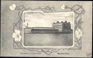 uruguay, MONTEVIDEO, Balneario y Universidad (ca. 1899)