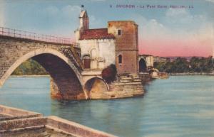 AVIGNON, Vaucluse, France, 1900-1910's; Le Pont Saint Benezet