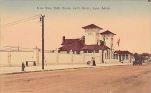 Massachusetts Lynn New State Bath House Lynn Beach 1908