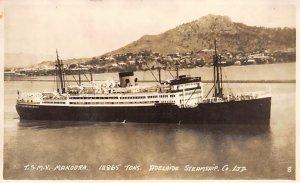 TSMV Mandora Adelaide SS Co Ship Unused