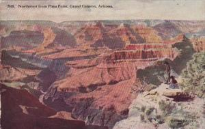 Arizona Northwest From Pima Point Grand Canyon Fred Harvey
