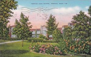Michigan Pontiac Pontiac High School 1945