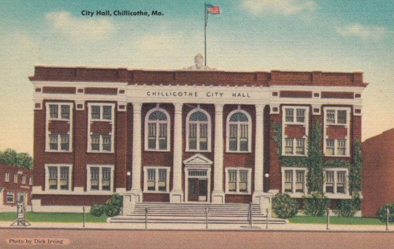 CHILLICOTHE, Missouri, 1930-40s; City Hall