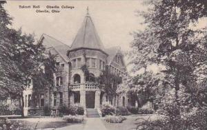 Ohio Oberlin Talcott Hall Oberlin College Albertype