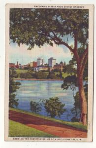 P94 JLs old postcard conservatorium of music sydney nsw