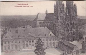 France Toul Cathedrale et Hotel de Ville