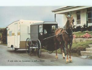 Pre-1980 Postcard Ad SHASTA TRAILERS FOR CAMPING AC7270