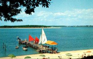 New York Long Island Shelter Island Boat Dock