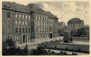 Czech Republic Pilsen Plzeň Obchodní akademie 02.84