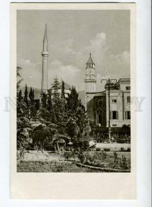 263088 ALBANIA Tirana Bey mosque old Albturist postcard