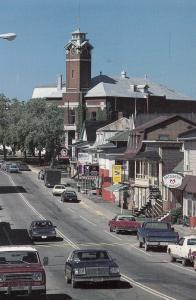 RIVIERE-DU-LOUP, Quebec, Canada, 1970-80s; La rue Lafontaine