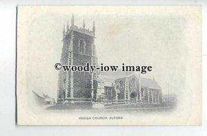 cu2471 - The St.Wilfrid Parish Church, in Alford - Postcard