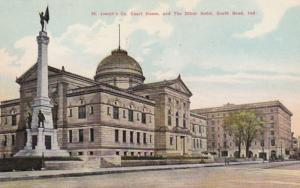 Indiana South Bend St Joseph's County Court House & The Oliver Hotel