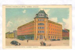 Chateau Champlain Hotel, Quebec, Canada, 30-50s