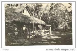 RP Ceylon  00-10s, Rural house, Colombo