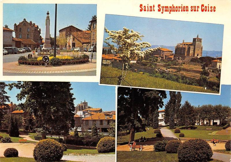 France Saint Symphorien sur Coise Rhone multiviews Park General view
