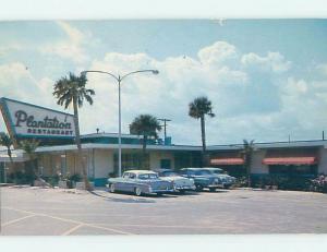 Pre-1980 RESTAURANT SCENE Daytona Beach Florida FL F8136